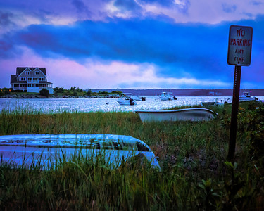 Evening Storm at Cape Cod