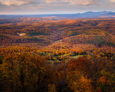 "Autumn Color in the ""Grand Canyon of the Ozarks"""