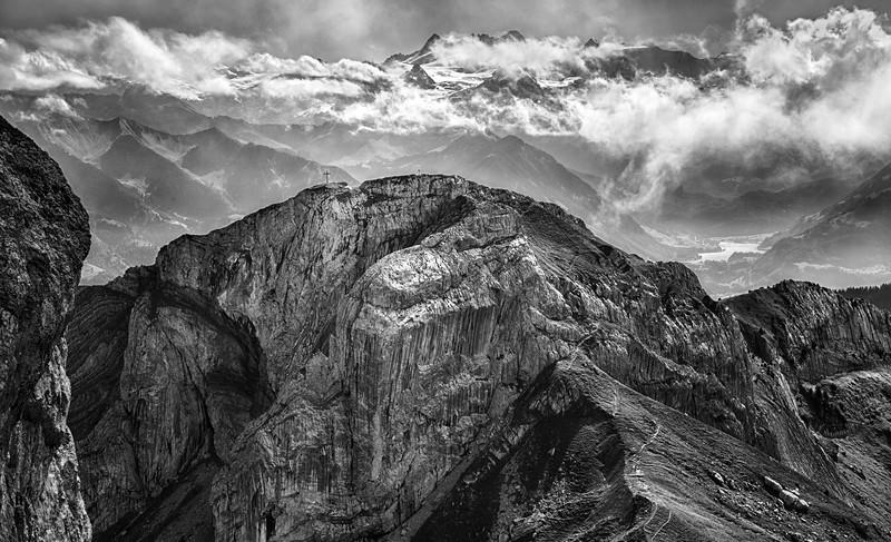 Trail to the cross - Mt.Pilatus, Switzerland