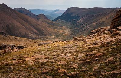 Valley below Little Pike's Peak