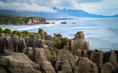 """""""Pancake Rocks""""  at Paparoa National Park"""