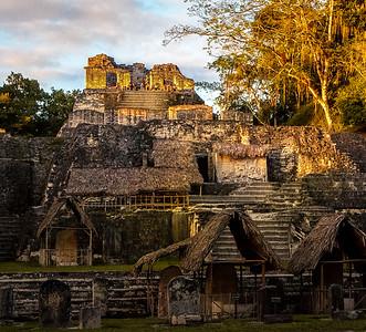 Golden Hour Atop Tikal