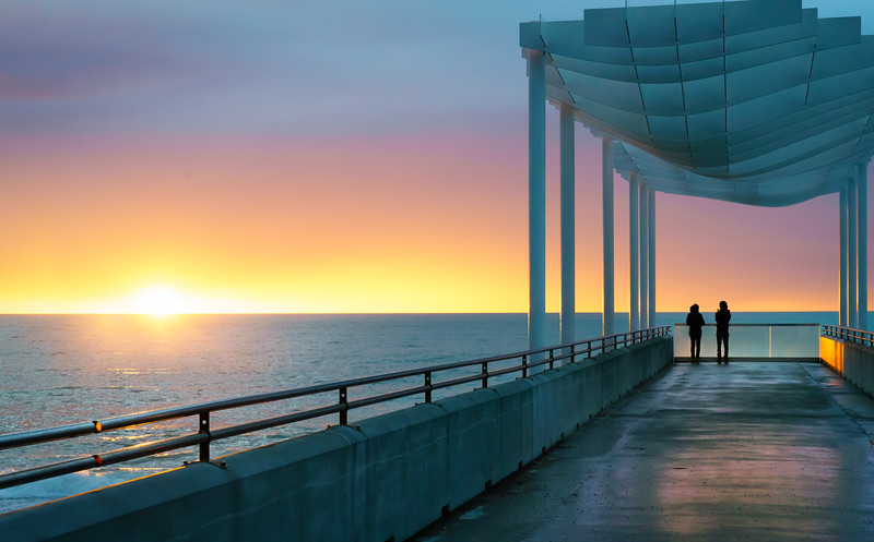 Watching the Sunrise (Napier)