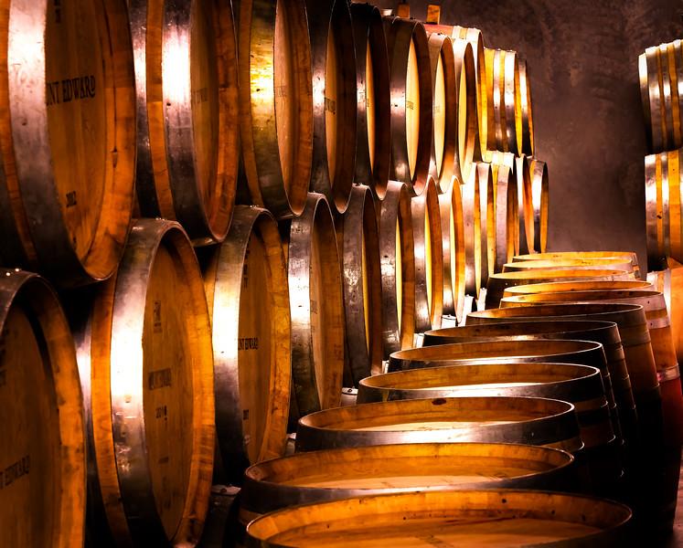 Wine Cellar at Mount Edwards Vineyard