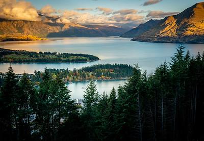 Fall Evening at Lake Wakatipu