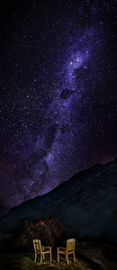 Milky Way View from Silverpine Lodge