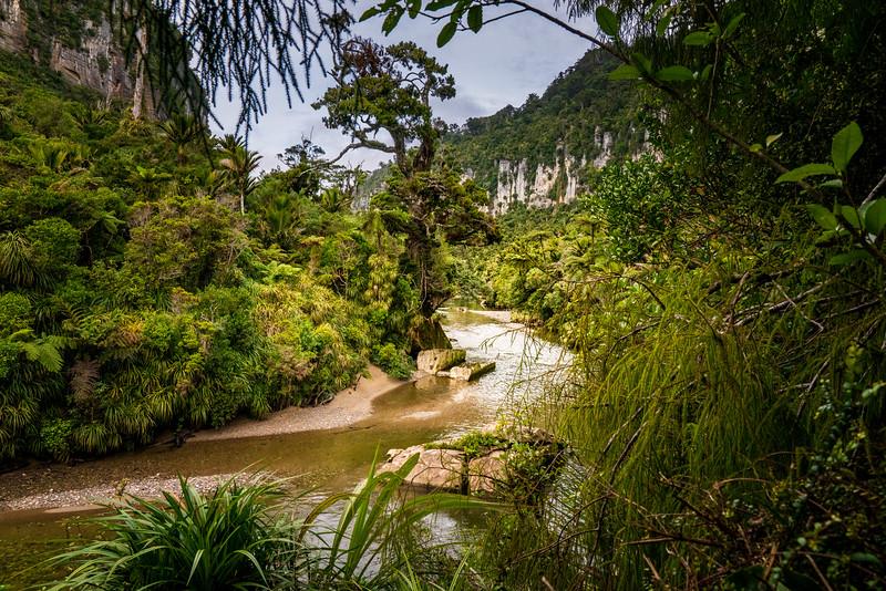 Porarai River (near Punakaiki)