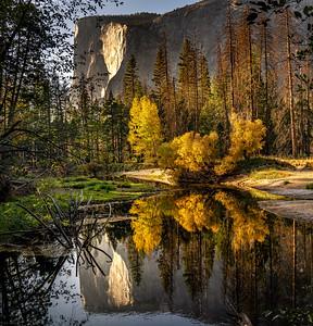 Evening Reflections by El Capitan