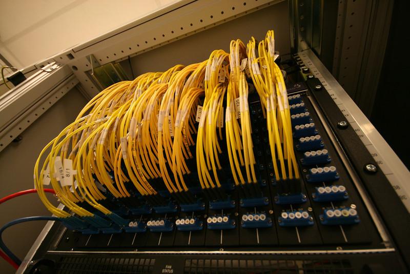 fiber optic panel at eu networks