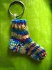 sock keychain