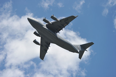 New York Air National Guard C-17 GlobeMaster III Demo