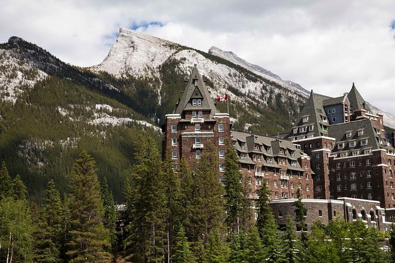 Fairmont Banff Springs Hotel, Sulphur  Mountain