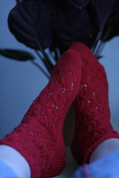 sockapalooza 4 elfine socks