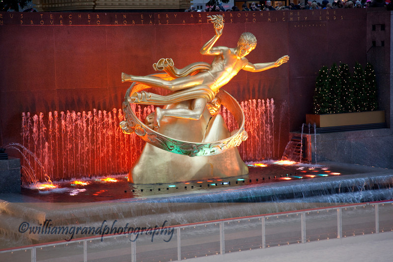 Prometheus, Rockefeller Center