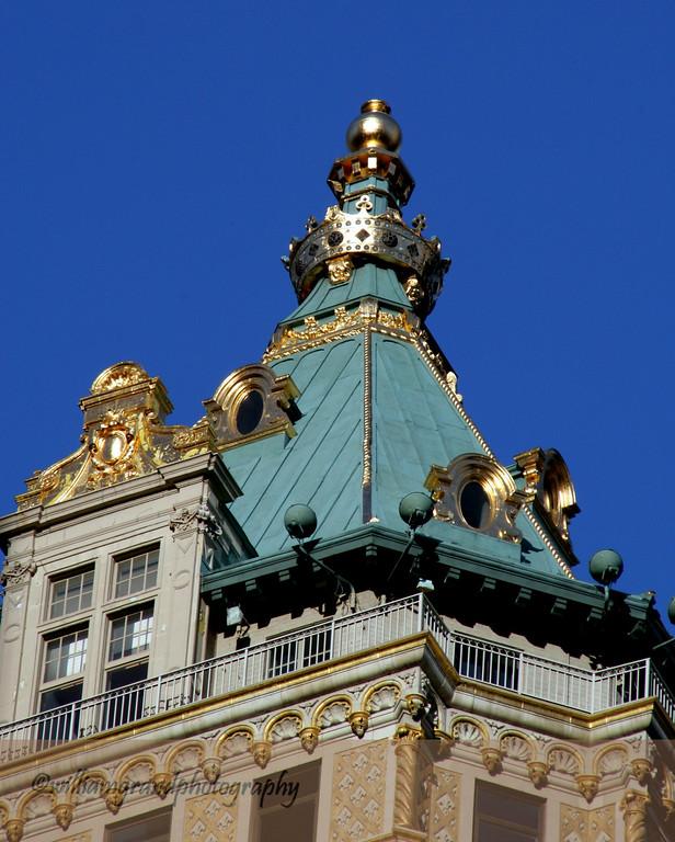 Top of Crown Building