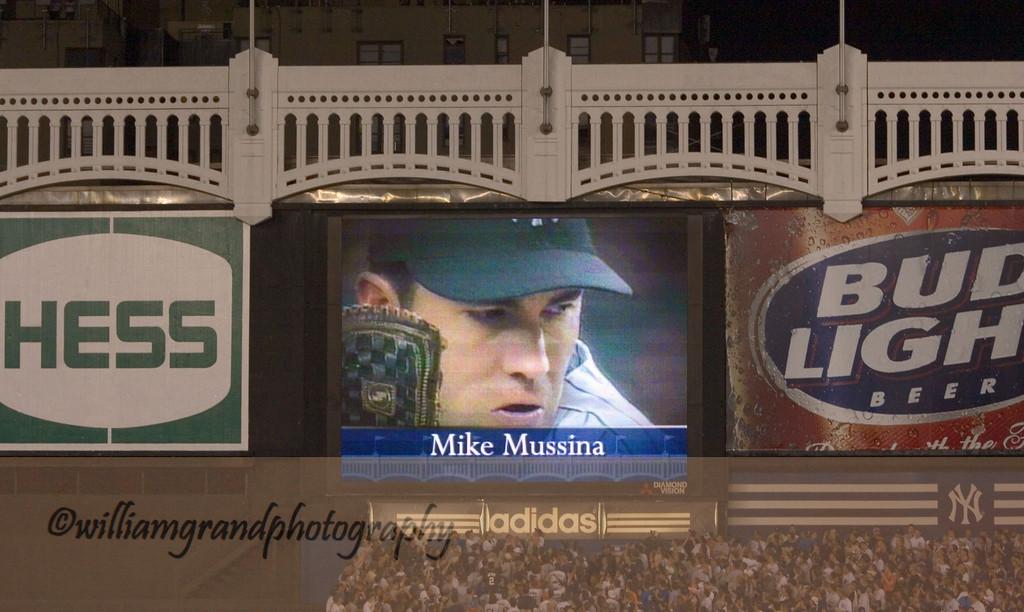 Top of Yankee Stadium Last Game 2008