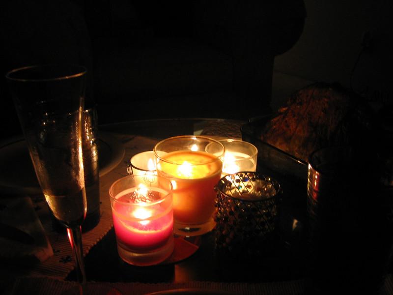 candles and unturkey