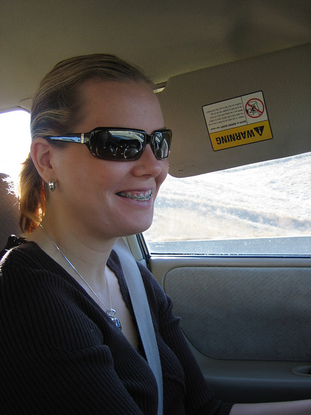 riss driving over the pass