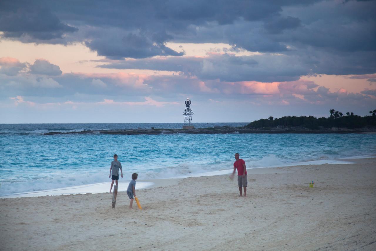 Sunset Baseball, Beach, Westin Lagunamar