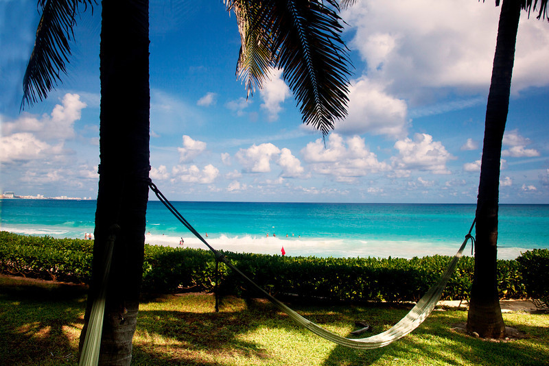 Cancun Beach and Hammock