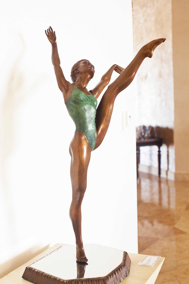 Bronze Sculpture by Javier Villereal