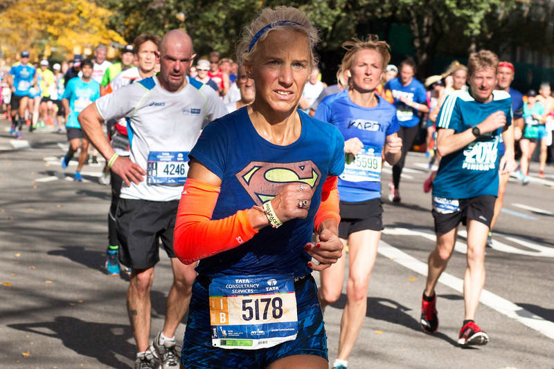 Superwoman, New York City Marathon