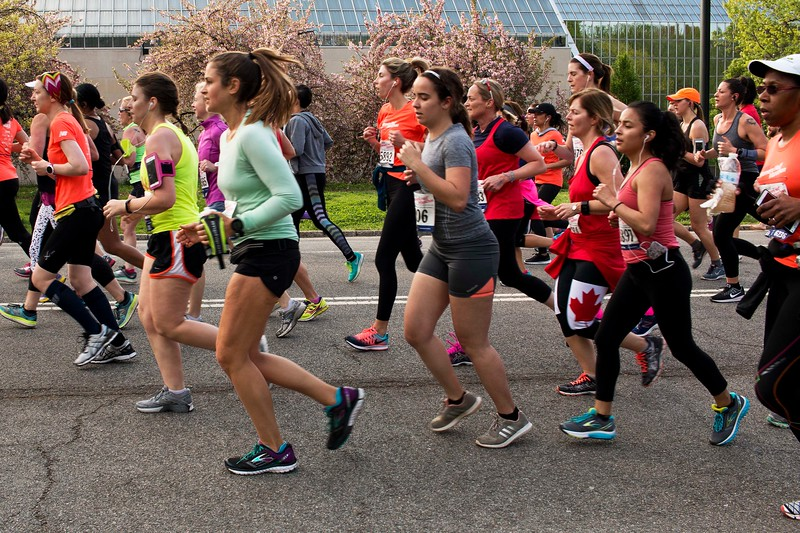 Women's Half Marathon, April 30, 2017