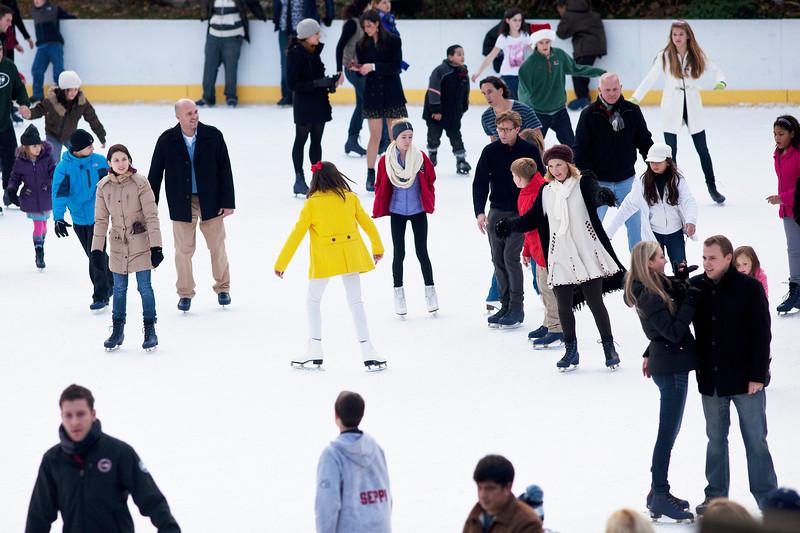 Wollman Rink Skating