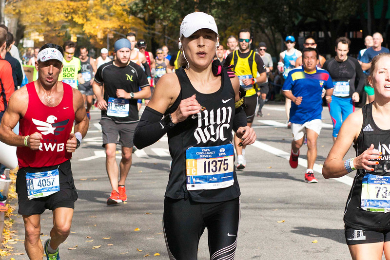 New York City Marathon, November 6, 2016