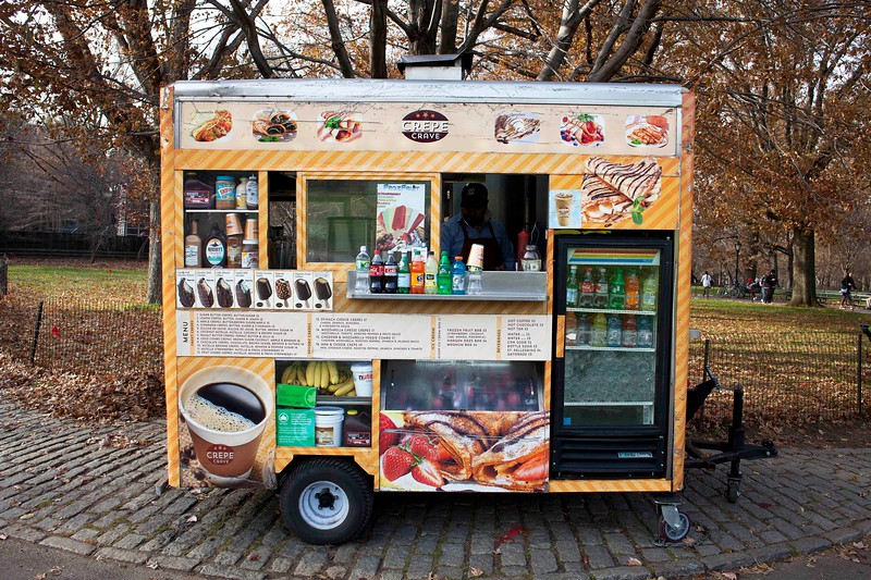 Crepe Crave Cart, Great Lawn