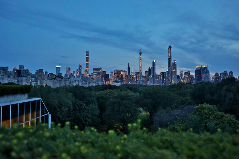 After Sunset, View from Metropolitan Museum Rooftop