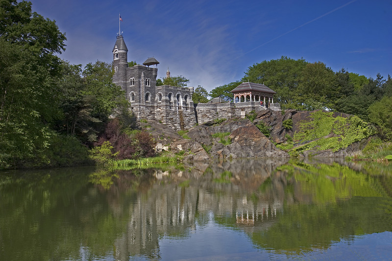 Belvedere Castle, Summer