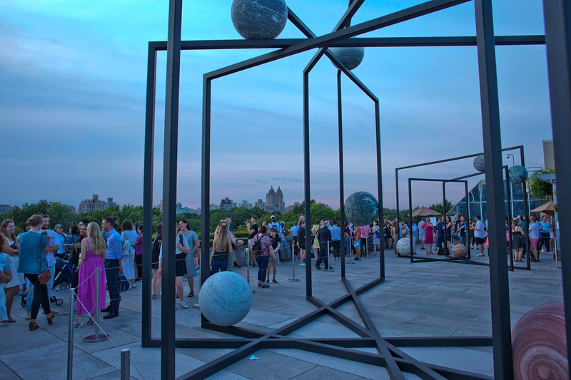 Alicya Kwade's ParaPivot, Settles on the Rooftop of the Metropolitan Museum of Art, Overlooking Central Park