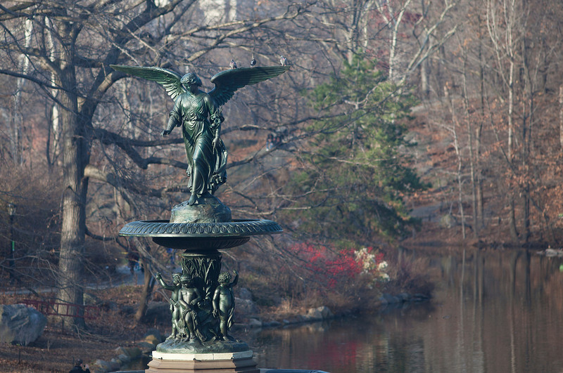 """Angel of the Waters,""  Bethesda Fountain"
