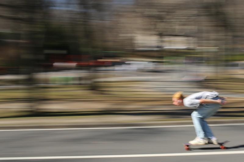 """""""Blur,"""" Downhill Racer"""