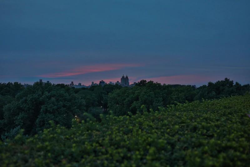 Dusk Over Central Park, Summer