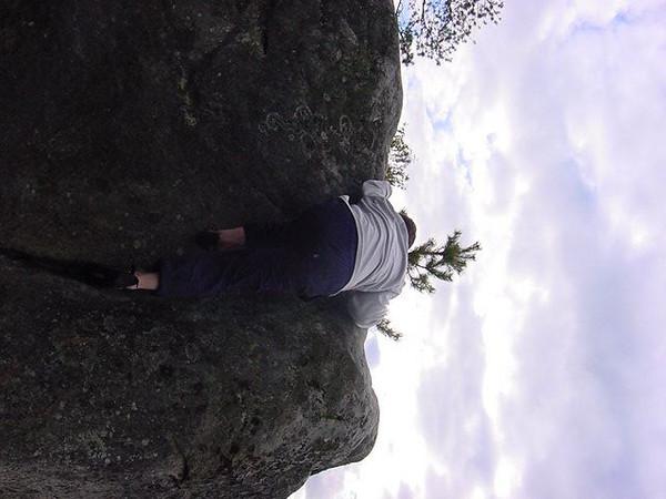 crack climbing: 4