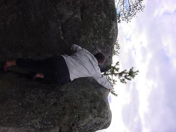 crack climbing: 3