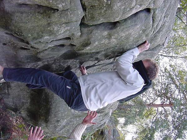 blind climbing