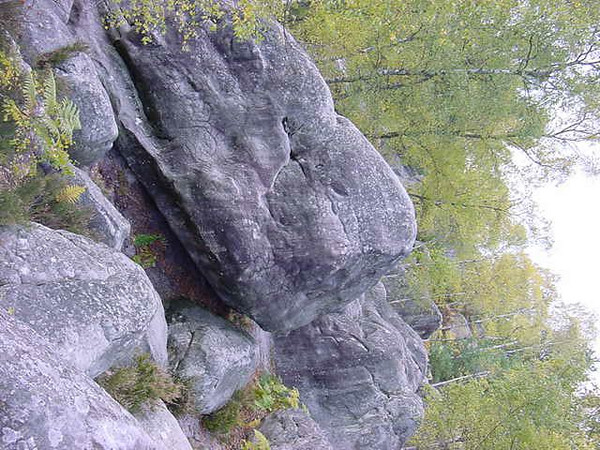 lovely surfaced boulders