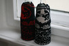 club mate cosies: black/red and black/white