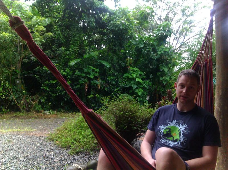 skytee in a hammock