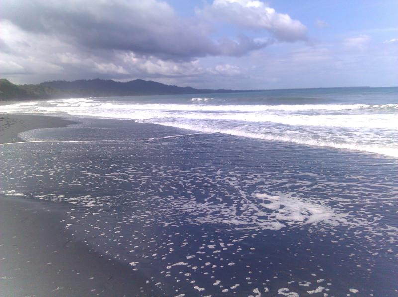 playa negra and the caribbean ocean