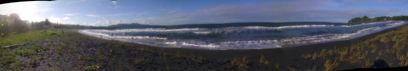playa negra, late afternoon
