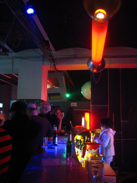 bar at the c-base