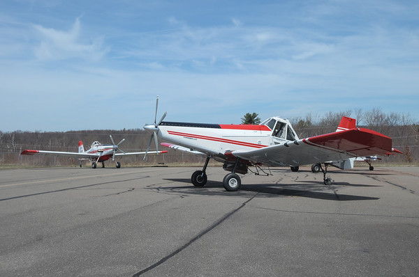 Forestry Planes at Hazleton Airport (HZL) (2017-04-10)