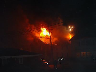 Maple Cottage Fire, Hazleton City 12-16-2004