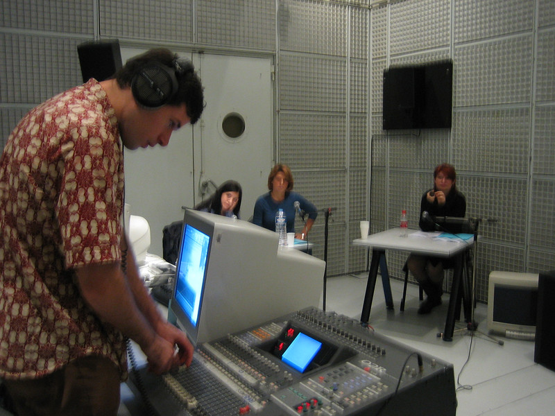 recording session for sylvie