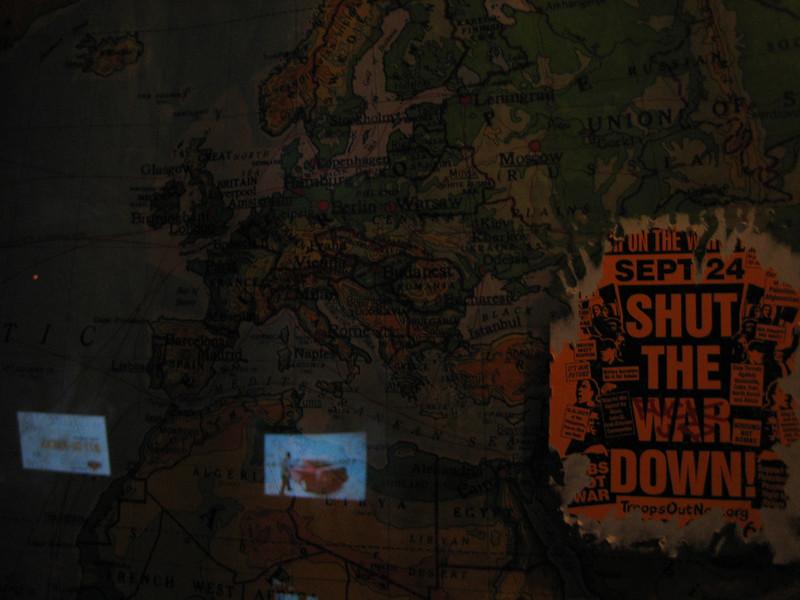 shut the war down