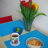 tulips, croissant, yes rly.